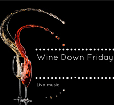 Wine Down Friday Events website
