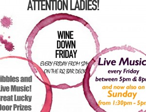 Wine Down Friday COVER IMAGE