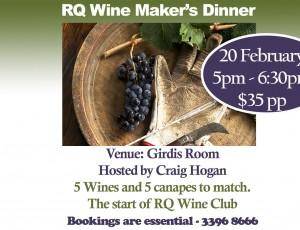 Wine Makers Dinner Website Post