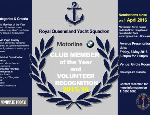 Member of the Year Poster