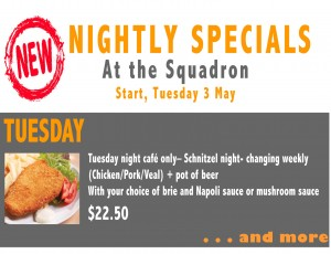Weekly Specials cover page