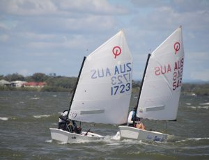 RQYS Open Optimists fleet