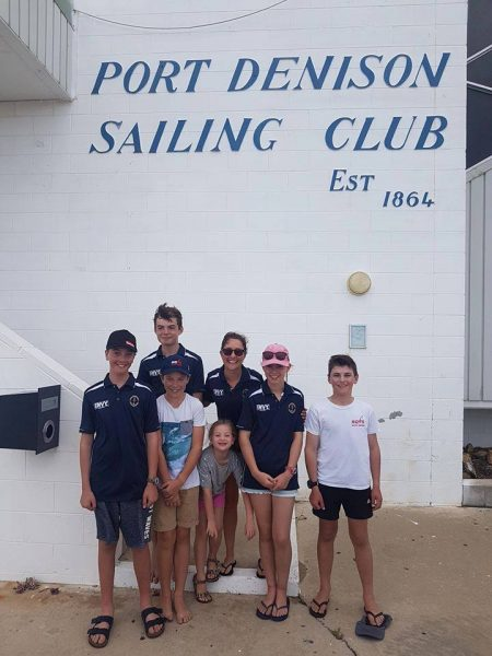 rqys manly sailing optimists